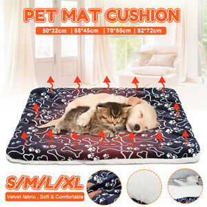Pet-Washable-Home-Blanket-Large-Dog-Bed-Cushion-Mattress-Kennel-Soft-Crate-Mat