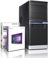 PC Quad Core Computer GAMER A10 6700 16GB 2TB Rechner Komplett Windows 10