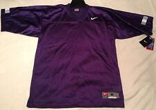 Nike NCAA Kansas K-State Purple Football Jersey Blank Wildcats Powercat Men's M