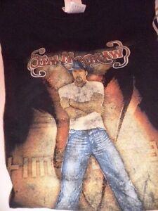 Tim-McGraw-2004-Out-Loud-Summer-Concert-Tour-Teeshirt-Black-XL-Cotton