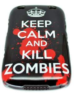 Keep-Calm-And-Kill-Zombies-Design-Hard-Back-Case-Cover-For-Blackberry-Curve-9320