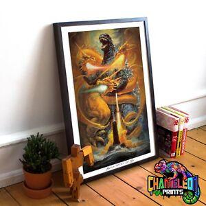 Godzilla Movie Poster A4 A3 Godzilla Original Movie Poster