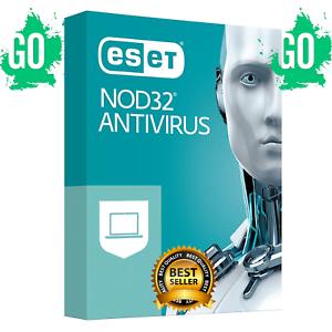 ESET NOD32 ANTIVIRUS 2020 LAST VERSION License Key 3 Years ...