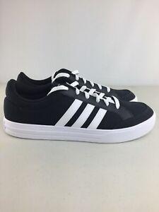 Adidas-VS-SET-Men-s-Shoes-AW3890-Size-11-5-Black-White-Sneakers