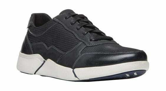 Propet Men's Landon Sneaker Black Nubuck Sneakers