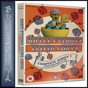 MONTY-PYTHON-039-S-FLYING-CIRCUS-COMPLETE-SERIES-1-BRAND-NEW-DVD-STANDARD