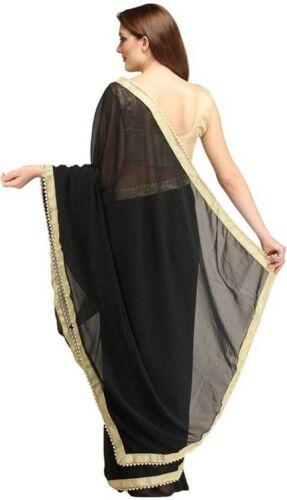 Indian-Ethnic-Party-Wear-Sari-Designer-Bollywood-Wedding-Georgette-Bridal  Saree