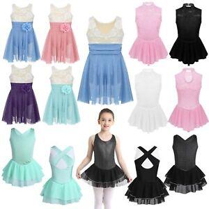 Children-Girls-Figure-Ice-Skating-Dress-Roller-Skating-Costumes-Ballet-Dancewear
