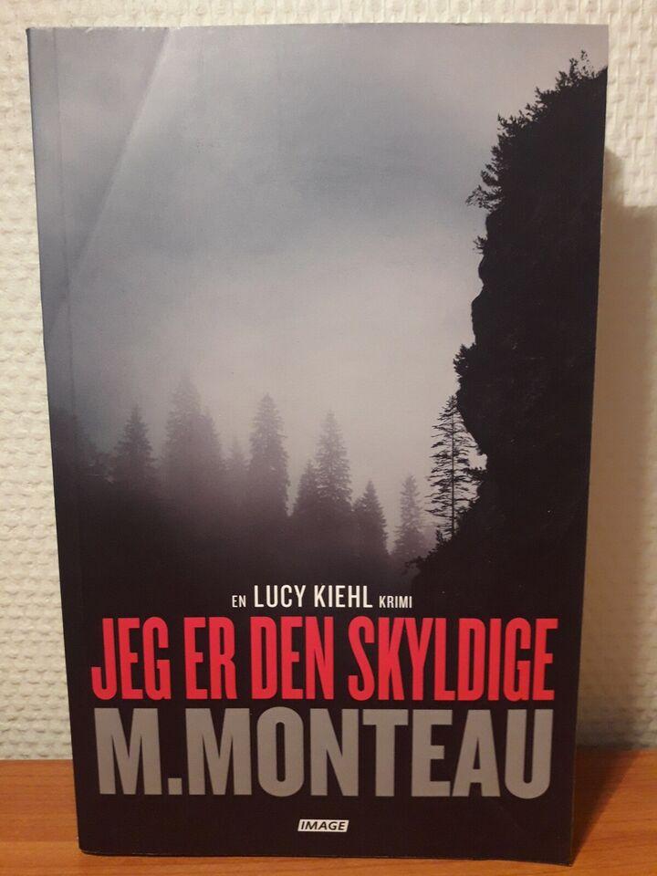 Jeg er den skyldige , Monteau., genre: krimi og spænding
