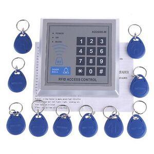 RFID-Tueroeffner-Codeschloss-Zutrittskontrolle-Transponde-GY