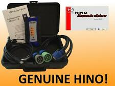 Hino DXII Diagnostic Software with Nexiq USB Link Code Scan Tool Hardware