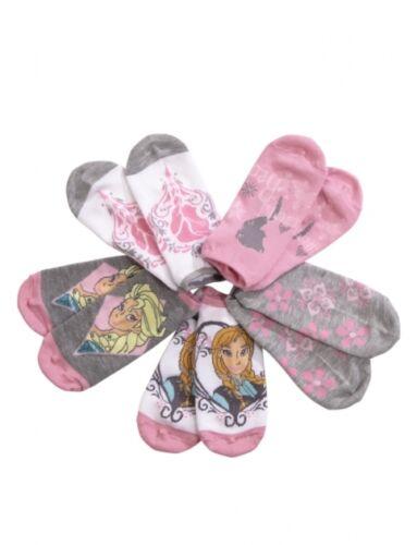 NWT Justice Girls Frozen Anna Elsa Ankle Socks 5 Pair Set U Pick 13-5 5-9 NEW