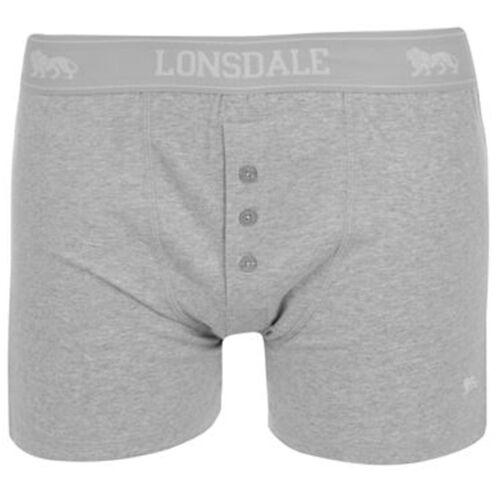 LONSDALE London 2x Boxershorts Mutande Uomo Biancheria Intima S M L XL XXL XXXL