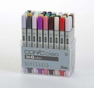 36 Pens Copic Sketch Marker Set