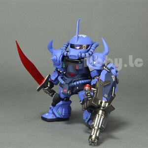 Details about GK Action Garage Kit SD Scale Zeon MS-07B-3 Gouf Custom Resin  Gundam Model Cast