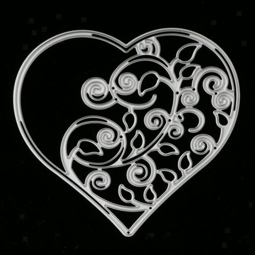 Cutting Dies Stencil for DIY Scrapbooking Album Paper Card Making Heart