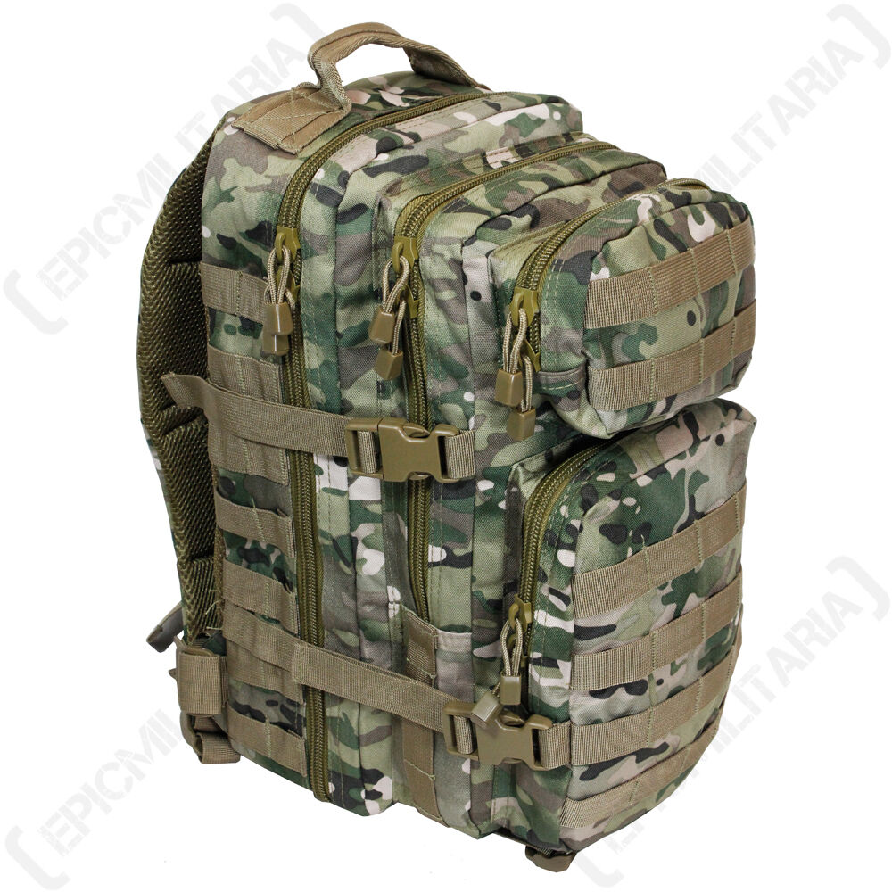 Tactical Multitarn Camouflage MOLLE SAC À DOS  Assault Paquet 20L à Militaire  hot sale