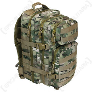 Tactical-Multitarn-Camo-MOLLE-RUCKSACK-Assault-Pack-20L-BACKPACK-Army-Military