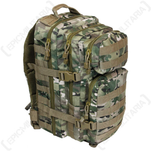 Tactical Multitarn Camo MOLLE RUCKSACK Assault Pack 20L BACKPACK Army Military