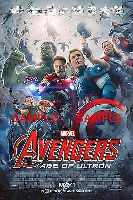"""The Avengers 2 Age of Ultron - B2G1F 11/"""" x 17/"""" Movie  Poster Print T3"""