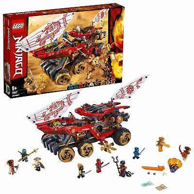 LEGO NINJAGO Land Bounty Toy Truck Ninja Car for Kids 70677