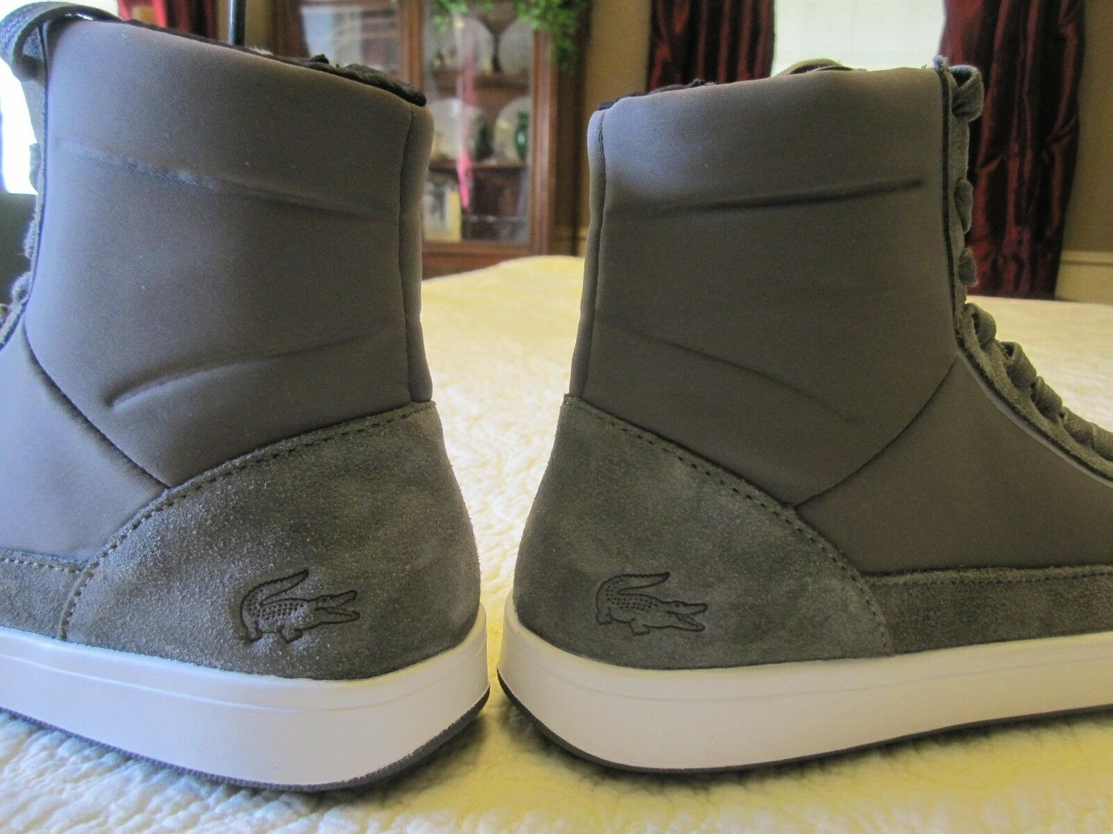 NEW  160 Lacoste damen Explorateur Calf and and and Suede Fashion Turnschuhe Sz 7 ea2479