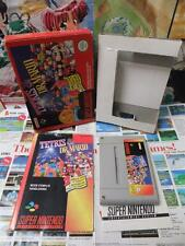 Super Nintendo SNES:Tetris & Dr.Mario [TOP & EDITION CLASSIC] COMPLET - Fr