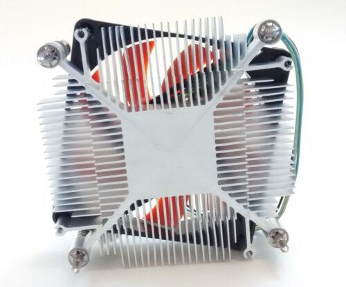 1U Low-Profile Intel LGA 1150//1151//1155//1156 i5 i7 Aluminum 80mm CPU Cooling Fan