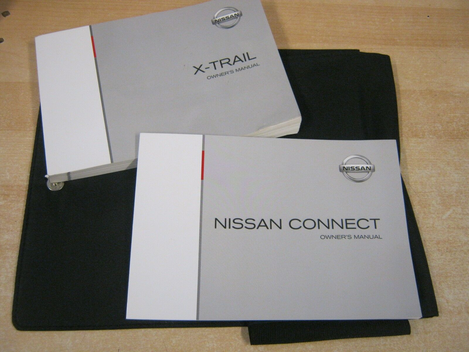 NISSAN X TRAIL HANDBOOK OWNERS MANUAL WALLET 2013-2016 INC CONNECT SAT NAV  M92 | eBay