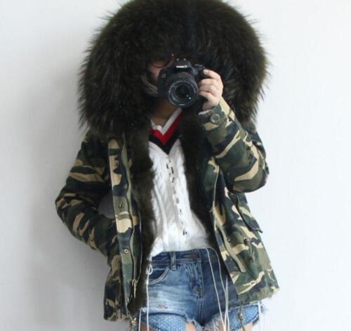 épais Slim Manteau Outwear à militaire capuche veste Parka Manteau RfxxaqCdw