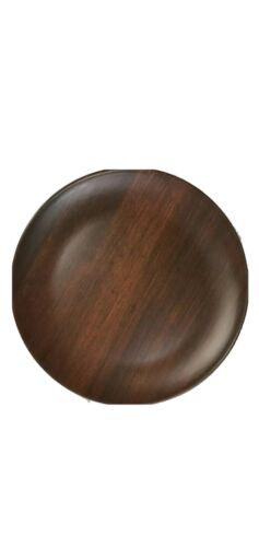 Wood Bamboo Look MELAMINE Luau Tropical DINNER Plates x4 Tommy Bahama NEW!!