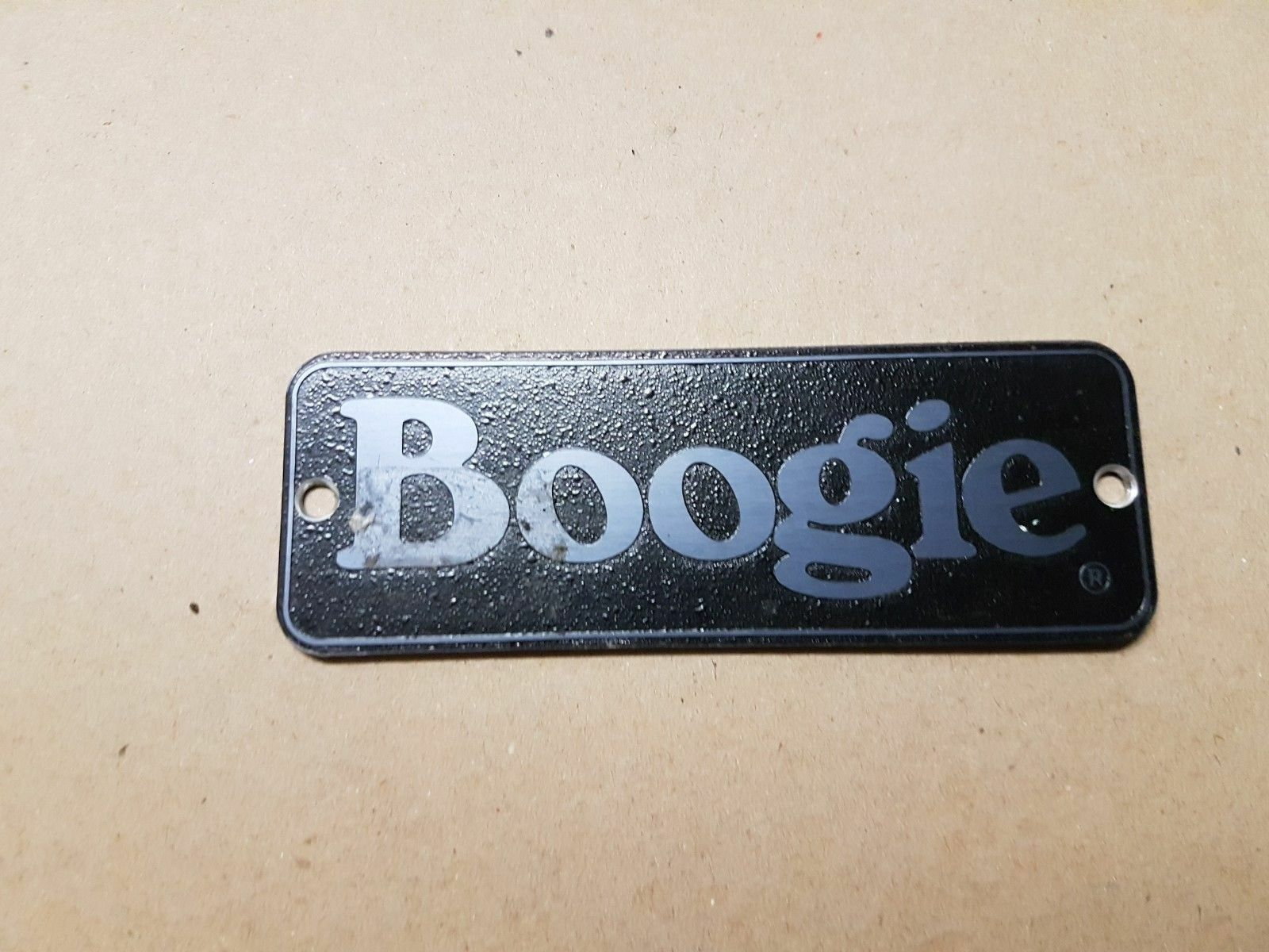 BOOGIE AMP LOGO - made in USA