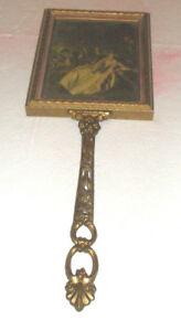Vintage-Hand-Held-Vanity-Mirror-Long-Handle