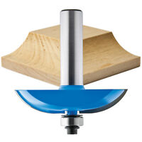 Rockler Cove Horizontal Raised Panel Router Bit, 2-1/2 Dia. X 5/8h