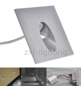 1W-LED-Lampe-Murale-Spot-Carre-Encastrable-Escalier-Wall-Lamp-Passage-Couloir