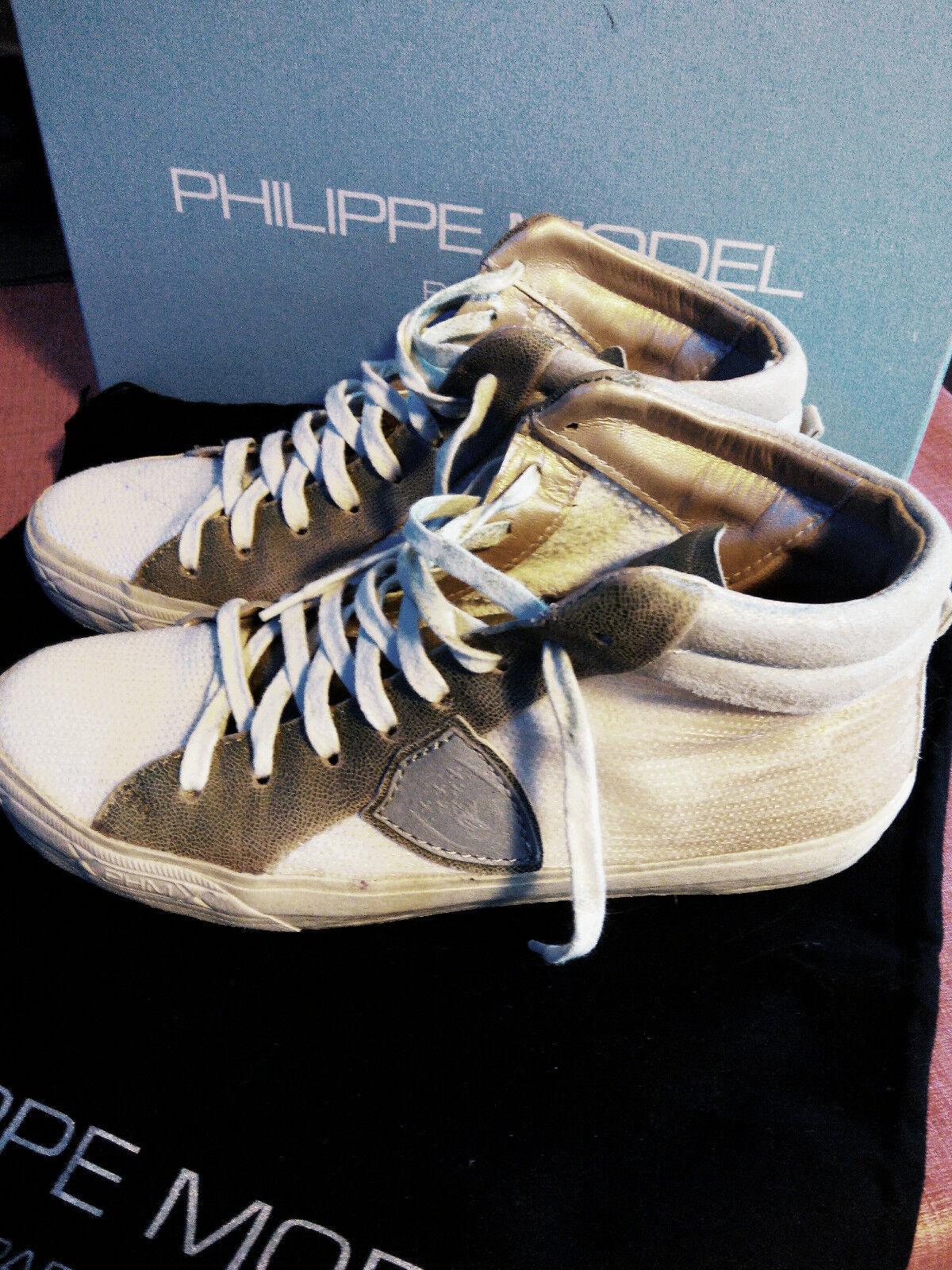 Philippe Model Damen Sneaker Beige 37 37 Beige d30c6c