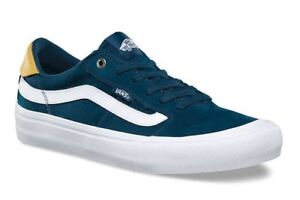 1ef6301587 VANS (STYLE 112 PRO) REFLECTING POND BLUE SKATE SHOES SZ 13 MENS ...