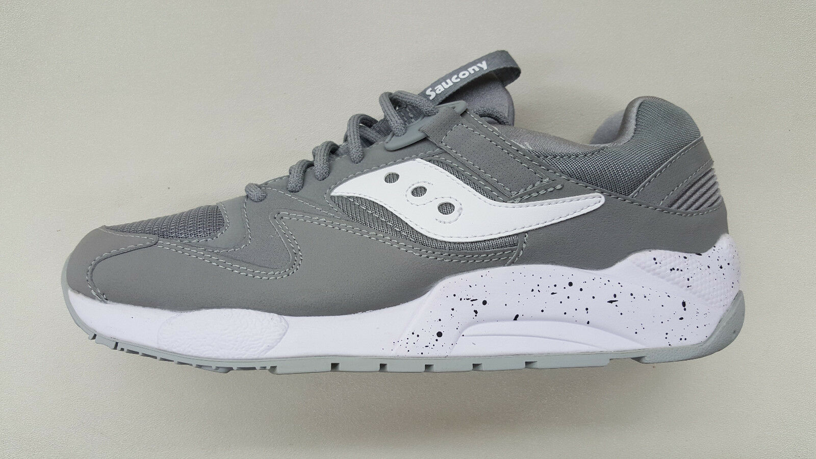 SAUCONY GRID 9000  GREY Weiß REFLECTIVE SILVER  9000 Herren SIZE SNEAKERS S70077-52 64e91a