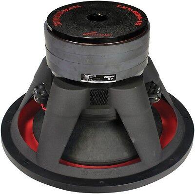 "Audiopipe TXXBD415 15"" 2800 Watts Dual 4 Ohm Subwoofer"