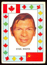 1972 73 OPC O PEE CHEE TEAM CANADA VS RUSSIA USSR STAN MIKITA VG BLACK HAWKS