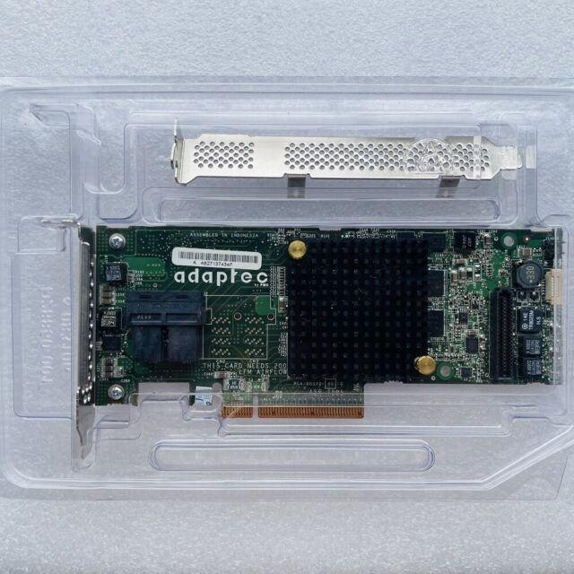 ASR-7805 Adaptec 2274100-R 6Gbps SAS SATA 1GB PCIe Gen3 Raid Controller Card