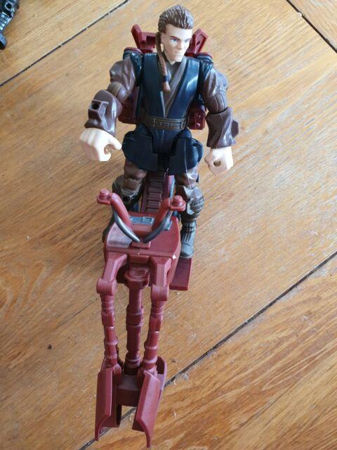 Disney Hasbro Star Wars Hero Masher JEDI SPEEDER and ANAKIN SKYWALKER