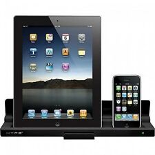 Charging Dock Cradle Cell Phone Tablet Charger iPad iPhone iPod Hype Dual 30 Pin