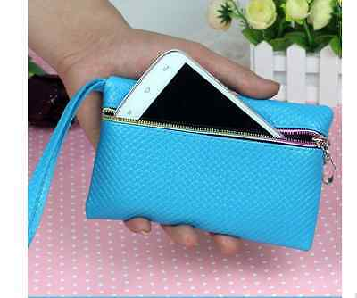 Mini Handtasche Casual Clutch Damen kleine Tasche Style Party PU Leder bunt