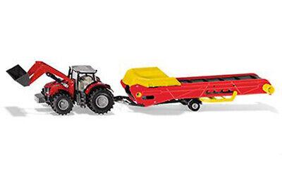 SIKU Farmer 1//50 1996 Massey Ferguson Traktor mit Förderband*** NEU OVP