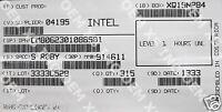 Intel Cm8062301088501 Sr0by Celeron Processor G440 1m Cache, 1.60 Ghz Tray