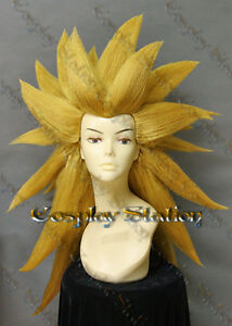 Image is loading Super-Saiyan-3-Gotenks-Custom-Made-Cosplay-Wig- f40e46a296ab