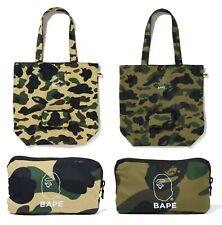A BATHING APE Goods Men/'s PADDED NYLON SHOULDER BAG 2colors New