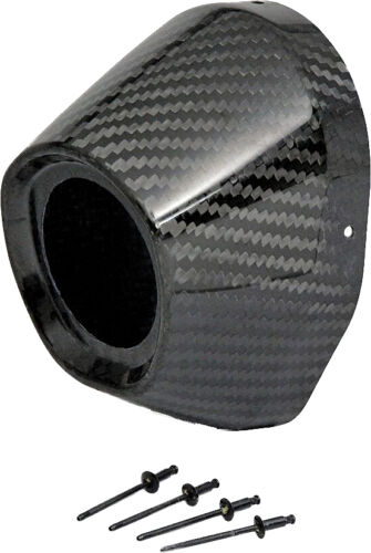"PRO CIRCUIT CARBON END CAP 3.5/"" HOLE 1 3//4TI5//TI6 CAP//RIVETS"