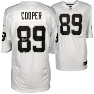 Autographed Amari Cooper Oakland Jersey (White) **Fanatics ...